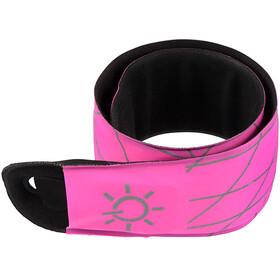 Nite Ize SlapLit LED Slap Wrap neon pink